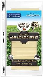 Organic Valley Organic American Cheese Slices, 6 Oz