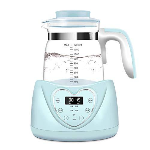 N-B Calentador de leche inteligente termostático, regulador de leche para bebés, calentador de leche automático para espuma de leche en polvo