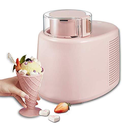 AYDQC Helado congelado Yogurt Sorbet Maker, Soft Soft Frozen YogurtFor Fabricación de Sherbet, Sorbete, Semiconductor fengong (Color : Pink)