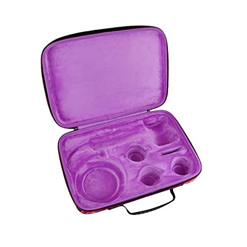 Honbobo Tasche Für Dyson HD08 Haartrockner,Tragetasche Case Aufbewahrungstasche Hartschalen-Handtasche Koffer Zubehör Für Dyson HD08