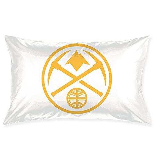 Denver Nuggets - Federa decorativa per cuscino da basket per casa, divano, letto, sedia, divano, divano, 50,8 x 76,2 cm