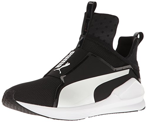 PUMA Women's Fierce Core, Puma Black-Puma Silver, 5.5 M US