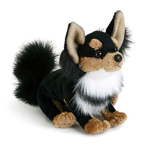 DEMDACO Long-Haired Chihuahua Children's Plush Stuffed Animal Toy