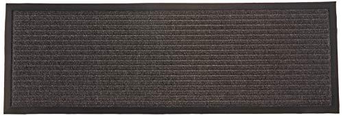 Jute & Co. droge Passo deurmat, Dim. 38 x 114 cm, jute, donkergrijs, One Size