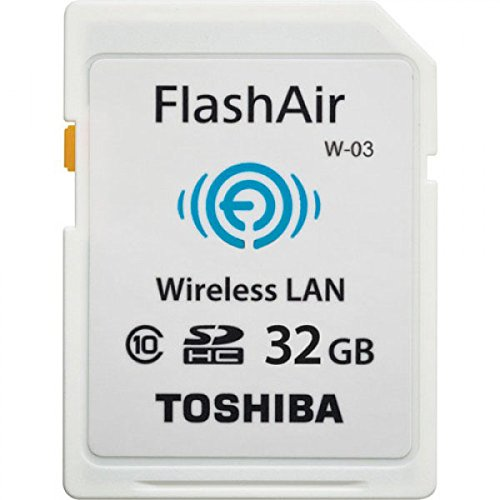TOSHIBA(東芝) 無線LAN搭載SDHCカード FlashAir W-03 [32GB] Class10 SD-R032GR7AL03A