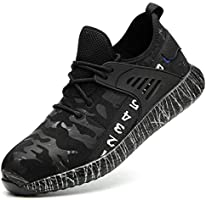 SUADEX 安全靴 作業靴 スニーカー メンズ 鋼先芯 ケブラー繊維ミッドソール 通気性 耐油 ワーキングシューズ 耐滑 衝撃吸収 男女兼用