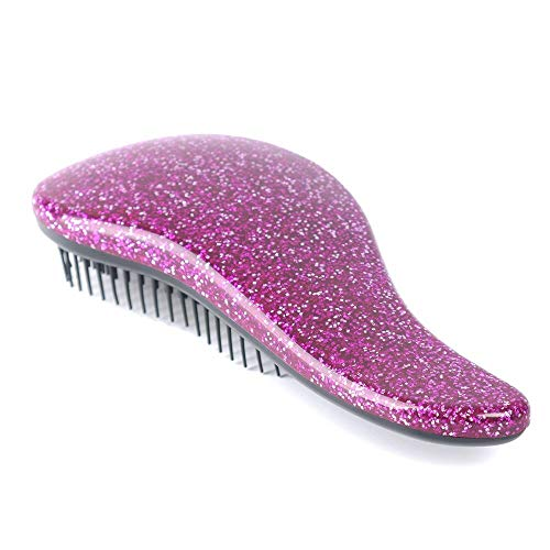 Best Quality - Travel Accessories - 1pc glitter magic handle tangle detangling comb for hair shower hair brush salon styling tamer tool travel accessories comb - by Stephanie - 1 PCs
