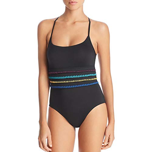 Soluna Swim Summer Soltice Stitched One-Piece Night MD