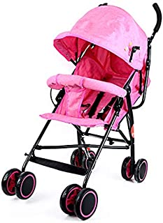 baby plus BP7731 Light Weight Stroller, Pink - Pack of 1