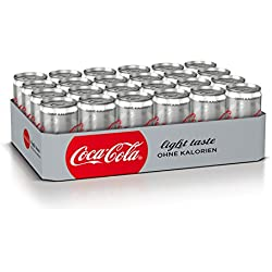 Captain Morgan White Rum 1 X 0 7 L Mit Coca Cola Light Dose 24er Pack 24 X 250 Ml Amazon De Bier Wein Spirituosen