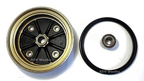 Kawasaki Mule 3000/3010 / 4000/4010 Rear Brake Drum Kit (Drum, Seal, & Bearing)