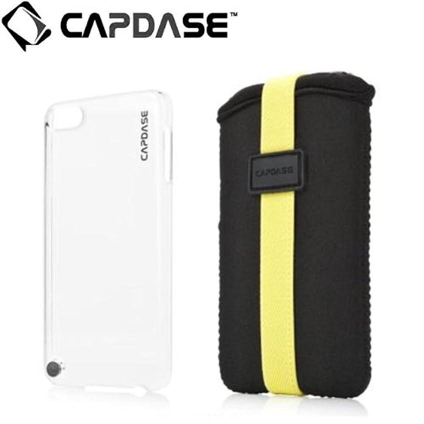 没頭する偽装する惑星CAPDASE iPod touch 5th用 カラペースジャケット バリューセット クリアー/ブラック