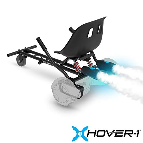 Hover-1 Raptor Hoverboard Dual Shocks Seat Attachment Turbo Light, Transform Your...