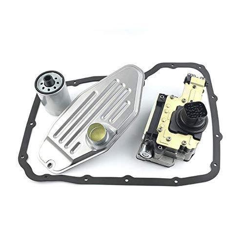 545RFE 45RFE Transmission solenoid valve 2WD with Solenoid pack, deep pan filter, spin-on filter fit all Chrysler Ram Dodge Jeep 2004-2009 (21391)