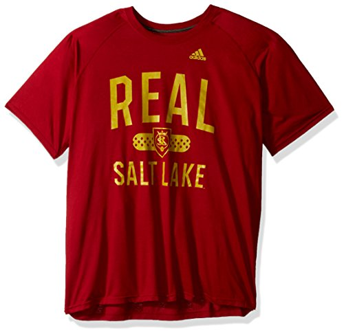 adidas Sprint Ultimate S/S Camiseta para Hombre, Color Rojo Victory