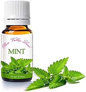 Mint Essential Oil - Refreshes and energizes the spirit and body and reduces stress 10 ml