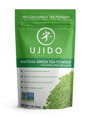 Ujido Japanese Matcha Green Tea Powder (16 oz) Culinary Smoothie Booster