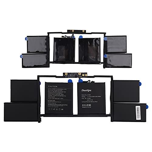 Duotipa Batería de repuesto A1820 compatible con MacBook Pro 15' A1707 Late 2016 Mid 2017 EMC 3162 3072 MLH32LL/A MLH32B/A batería con herramientas