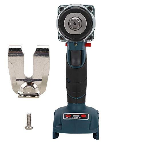 Llave de impacto Wendry eléctrica, velocidad ajustable de 3 velocidades, llave de impacto de 18 V, motor sin escobillas de alta eficiencia para reemplazo de la herramienta de Makita Llave de impacto B