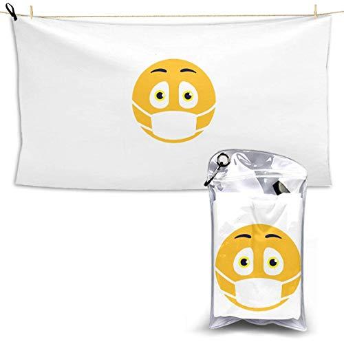 RTRTRT Please Stay 6 Feet Away Quick Dry towel 28.7'' x 51','Hotel White Bath Towel Beach Towel
