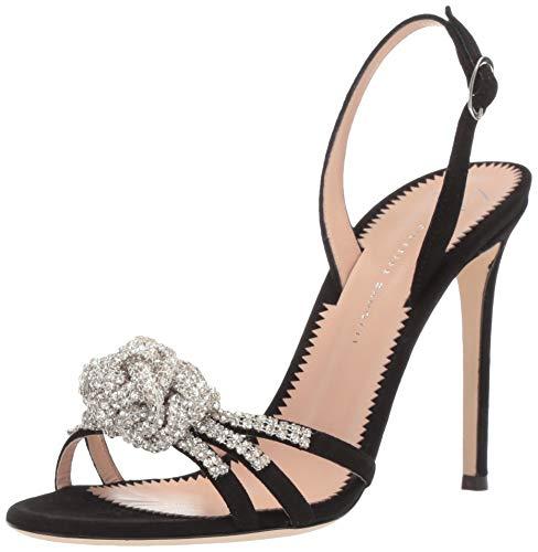 Giuseppe Zanotti Women's E900161 Heeled Sandal, Nero, 8 B US