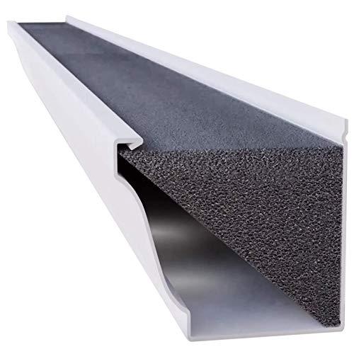 GutterStuff GSP-K5-8box-VC Foam Gutter Filter Insert, 5-Inch, Black