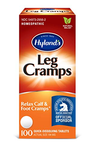 Leg Cramp Tablets by Hyland's, Natural Relief of Calf, Leg and Foot Cramp, 100 Count