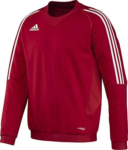 adidas Herren Pullover T12 Team Crew Sweater Männer X13123, Rot/Weiß, 5