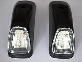 2 decorazioni in acciaio inox per luci laterali Actros Atego Axor camion