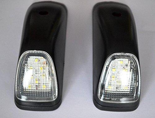 2 éclairages à 8 LED de 24 V - feux d'angle arrières sur les côtés du toit - pour camion Mercedes