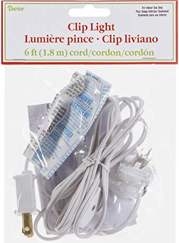 Darice Accessory Cord with One Bulb Light