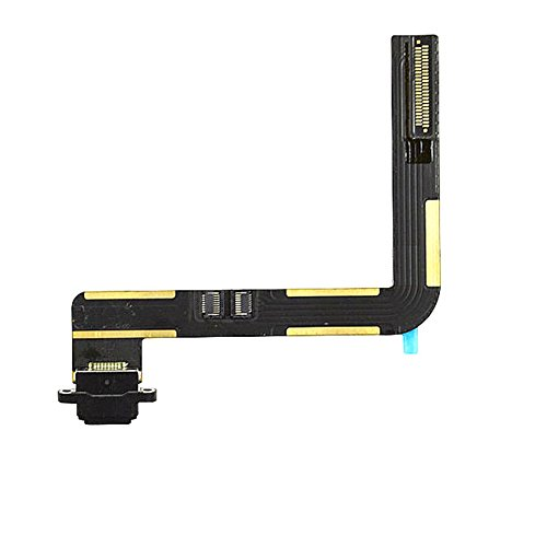 Charging Port Connector Dock Flex Cable Replacment for Ipad Air (Black)