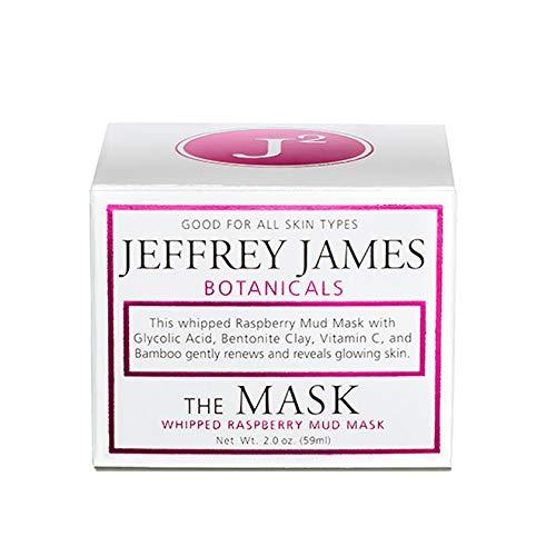 Jeffrey James Botanicals The Mask Whipped Raspberry Mud Mask + Glycolic Acid 2 oz