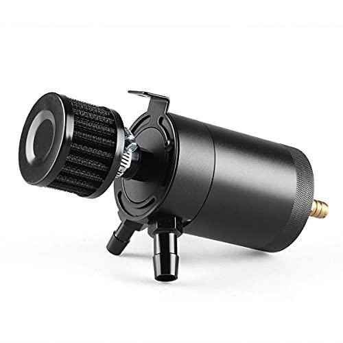Nihlsen Universal de dos holevoil pote transpirable con filtro de aire válvula recuperación pote tubo de escape aceite pote coche modificado accesorios