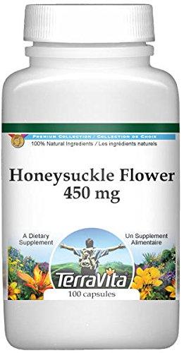 Honeysuckle Flower - 450 mg (100 Capsules, ZIN: 516950)