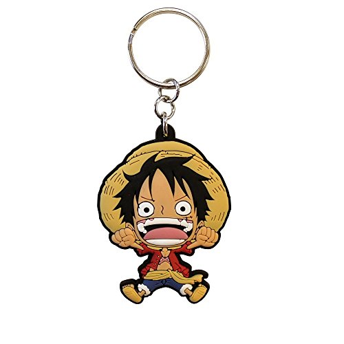 ABYstyle - ONE PIECE - Llavero PVC - Luffy