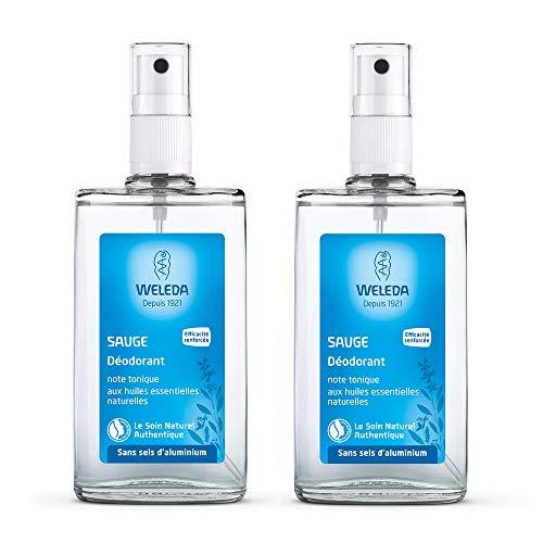 Weleda Sauge déodorant 2 x 100 ml