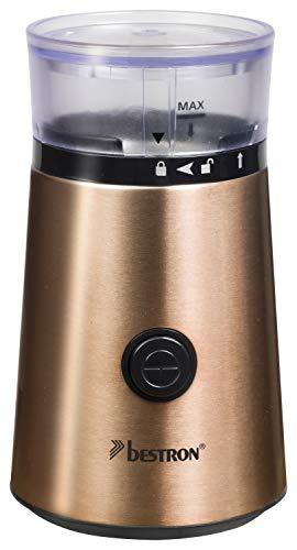 Bestron ACG1000CO Copper Collection koffiemolen, glas