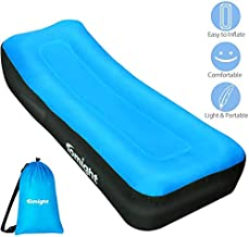 Tomight Inflatable Lounger, Air Sofa Hammock for Travelling, Camping, Hiking, Waterproof Inflatable Couch for Backyard, Lakeside,Beach, Blue