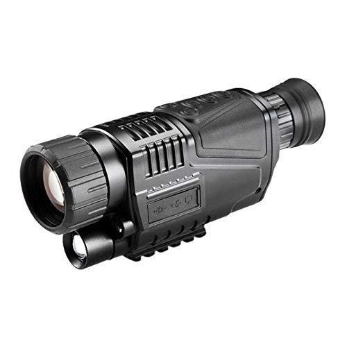 LNHJZ Alcance de Gafas de visión Nocturna infrarroja Digital 5X40 para telescopio de Caza de Largo Alcance con cámara de grabación de Fotos de vídeo
