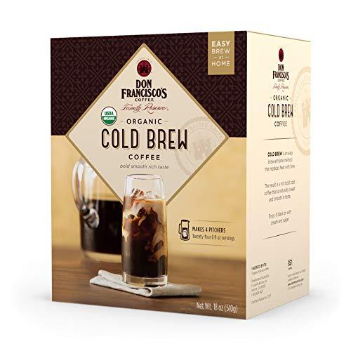(26% OFF Deal) Organic Cold Brew – MEDroast 1.12 lb, 4 pitchers $10.92