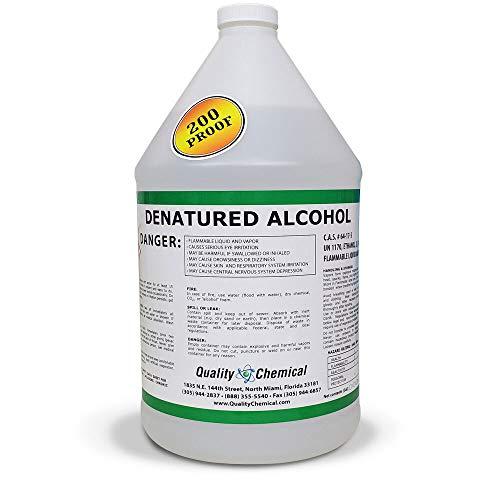Denatured Alcohol 200-1 Gallon (128 oz.)
