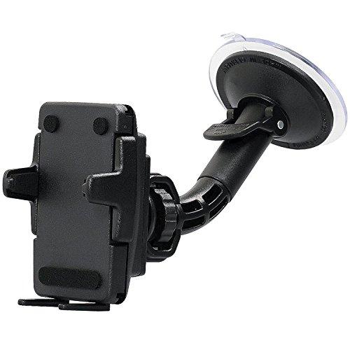 Wicked Chili UniGrip KFZ Halterung vibrationsfrei für Handy & Smartphone/Breite von 46mm bis 76mm (Made in Germany, Bumper & Case kompatibel, Neig- und Drehbar)