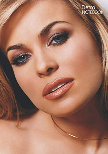 Notebook: Carmen Electra Notebook 129 Pages, Lined Diary, Medium Ruled Notebook and...