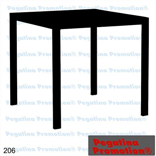 Piktogramm Typ 206 Icon Symbol Zeichen Tisch Mobiliar Möbel Aufkleber Sticker ca.15cm von Pegatina Promotion® Aufkleber mit Verklebehilfe von Pegatina Promotion® ohne Hintergrund geplottet