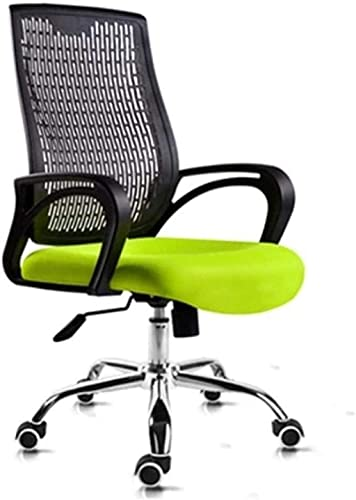 YONGYONGCHONG Silla de oficina para el hogar, silla giratoria, silla de malla ergonómica, silla de oficina, silla de oficina, naranja, color: negro (color: negro) (color: verde)