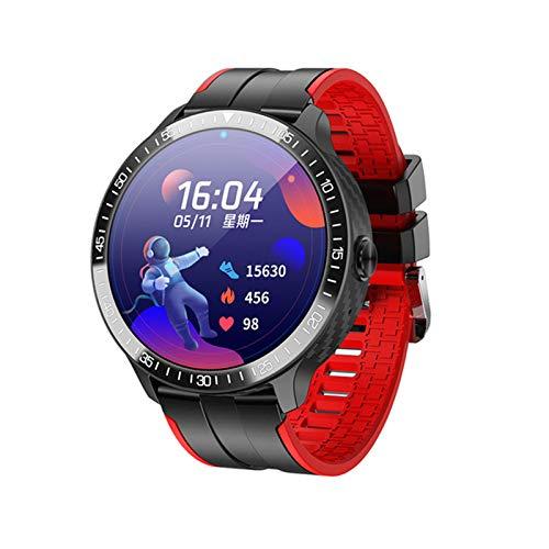 ZWW Music DIAL MONITOREO DE Temperatura Watch MT16 Pulsera Inteligente Pantalla De Color Círculo Completo Toque Completo Llamada Bluetooth,D