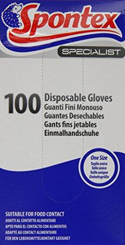 Spontex Specialist Einweg Handschuhe (100Stück)