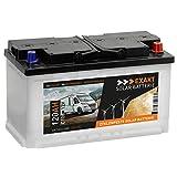 EXAKT Solarbatterie 120Ah 12V Wohnmobil Antrieb Versorgung Boot Mover Photovoltaik