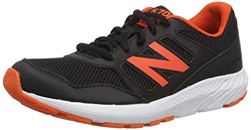 New Balance YK570V2, Scarpe per Jogging su Strada, Black, 32.5 EU